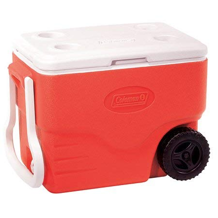 (Coleman Performance Wheeled Cooler, 40 Quart (RED))