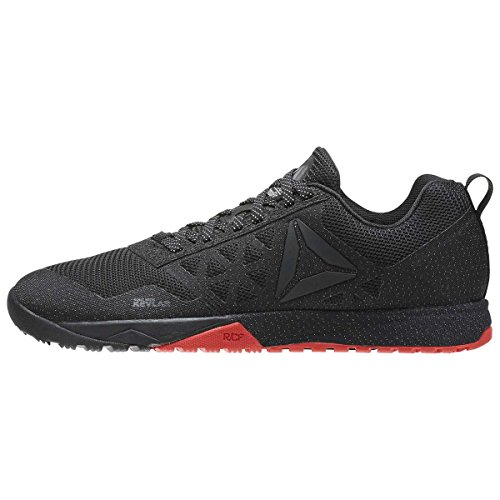 Reebok Women's Crossfit Nano 6.0 CVRT Stealth/Black/Riot Red/Black 10 B US