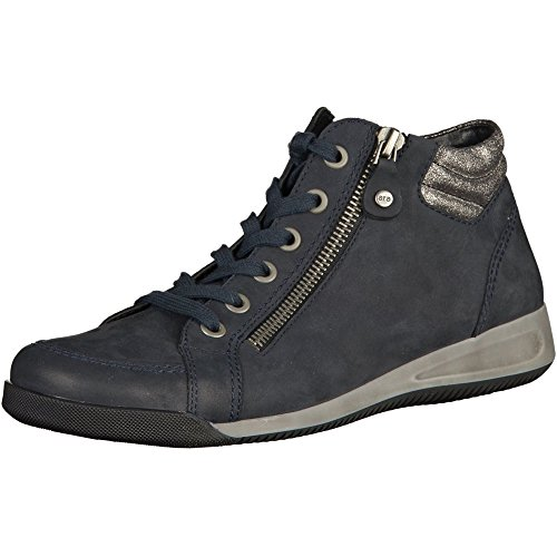 Ara Rylee Women Boots, Black Crink, Size - 6.5