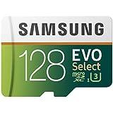 Cartão de memória microSDXC 128GB Samsung EVO Select (Classe 10, UHS-I, c/ Adaptador) - MB-ME128GA/AM