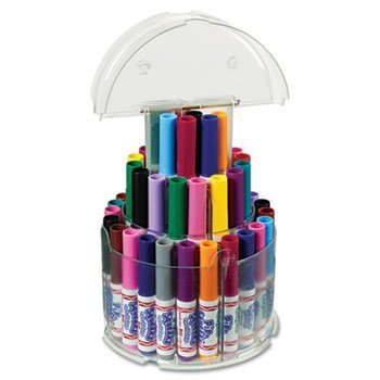 Crayola 588750 Pip-Squeaks Telescoping Marker Tower, Assorted Colors, 50/Set