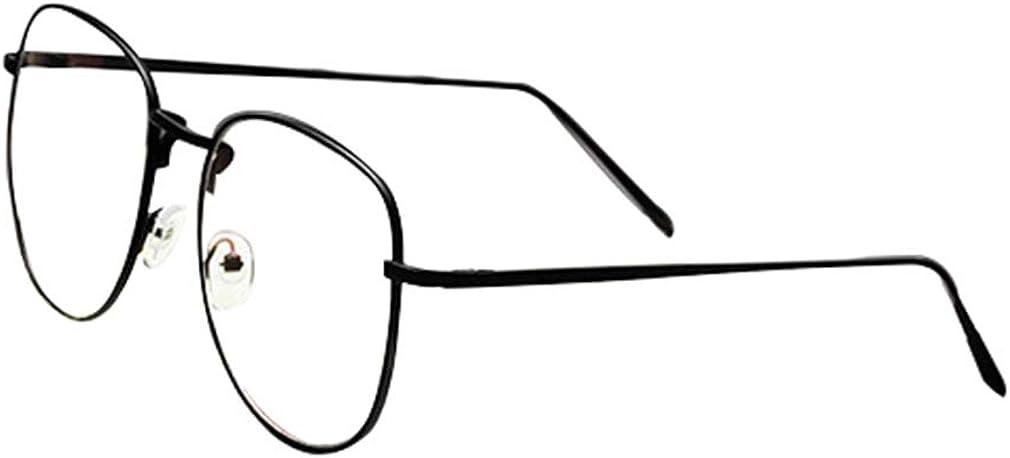 occhiali anti luce blu per computer//giochi per PC//TV//telefono cellulare//occhiali da lettura ka18082002 Junkai Uomo Donna Occhiali da vista rotondi