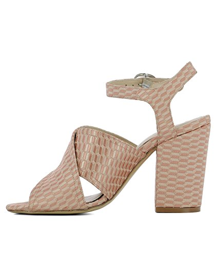 Strategia Women's A3609NUDE Pink Fabric Sandals 81hxR