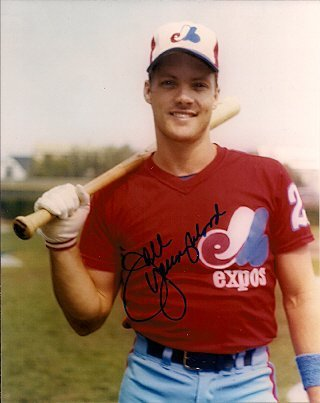 - Autographed Joel Youngblood Montreal Expos Photo