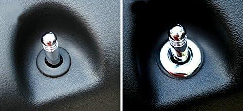 2011-2015 for Jeep Patriot Auto Interior Accessories Door Lock Pins Pin Covers 4pcs