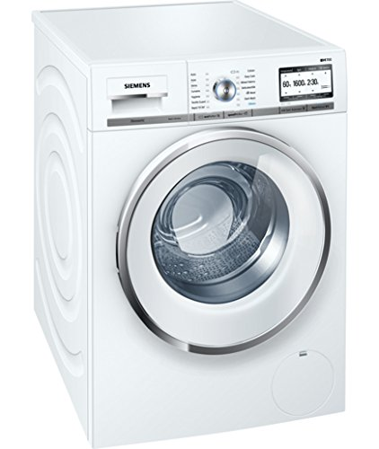Siemens iQ700 Independiente Carga frontal 9kg 1552RPM A+++ Blanco ...