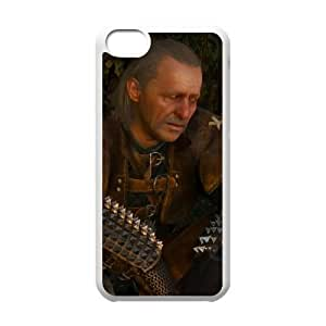 iPhone 5c Cell Phone Case White The Witcher 3 Wild Hunt review Vesemir LSO7945008