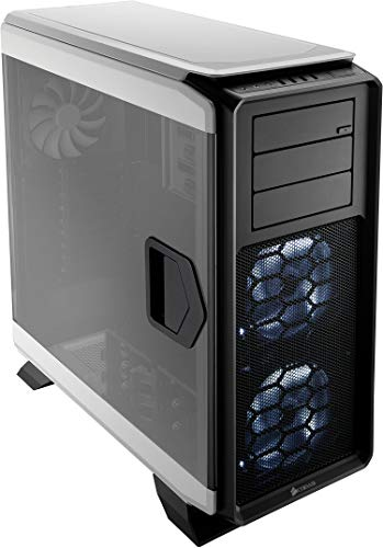 CORSAIR Graphite 760T Full-Tower Case, Window, Hinged Side Panels- White
