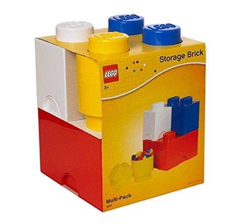 LEGO Storage Brick Bright Yellow
