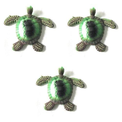 Path13 Magic Mega Megga Grow 600% Growth Aquatic Sea Beach Ocean Marine Creatures Animals Toys Bundle Value Pack (3 Pack - Turtle)