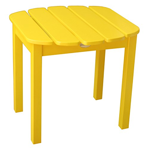 International Concepts T-51903 Adirondack Sidetable, Yellow ()