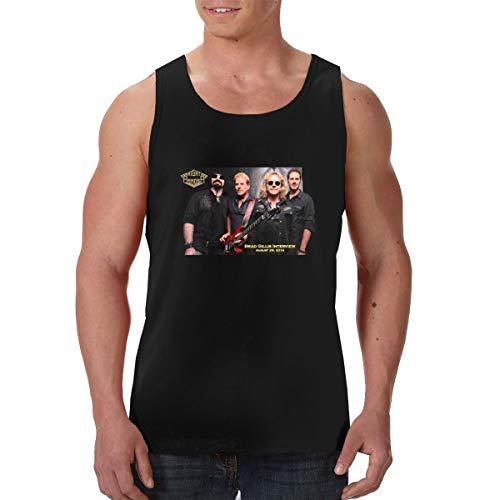 WangSiwe Night Ranger Music Band 3D Print Premium Tank Top Tanks Sleeveless Tshirt Black ()