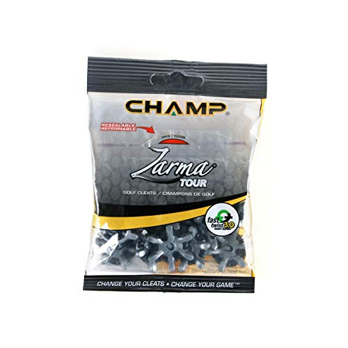 Champ Zarma Tour SLIM-Lok Golf Spikes Set of 18 Cleats