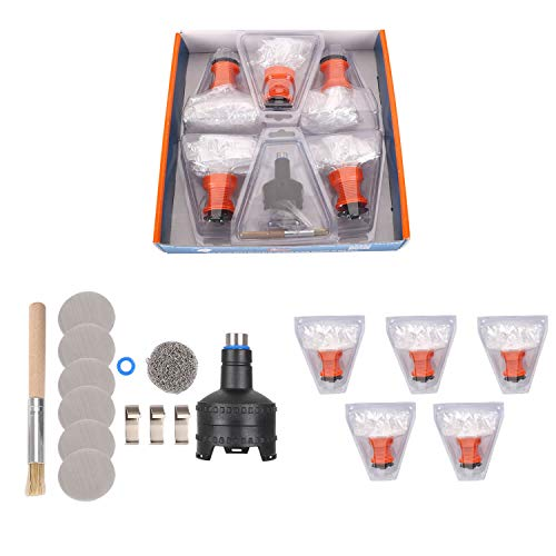 Easy Valve Replacement - KESHIJIA Easy Valve Volcano Bags Replacement Kit with Filling Chamber 5 Balloon Bags