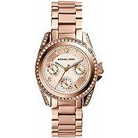 Michael Kors Women's Blair Rose Gold-Tone Watch MK5613