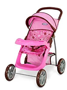 Amazon Com Graco Deluxe Mirage Doll Stroller Toys Amp Games