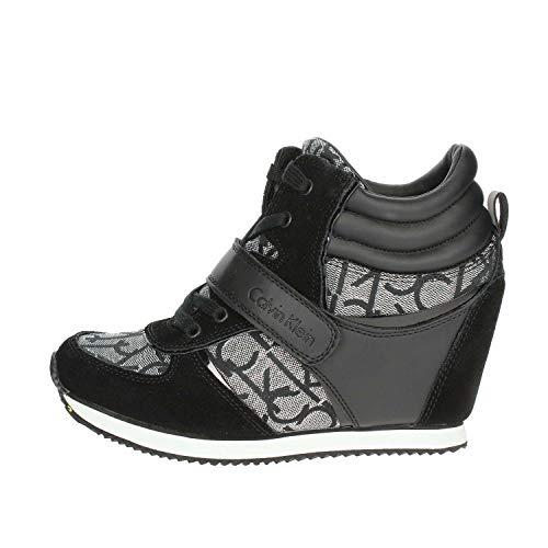 Calvin Klein Jeans Viridiana RE9642 Sneakers Scarpe Donna Sportive Tacco  Interno  Amazon.it  Scarpe e borse 53a52058857