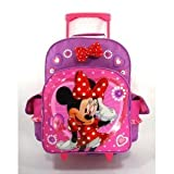 Walt Disney Minnie Mouse Large Rolling Backpack