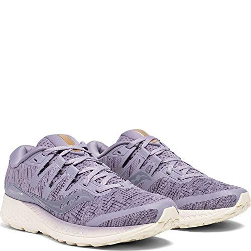 Mujer purple De Deporte Saucony Zapatillas Shade Iso Morado Ride 41 Para 7q8xY