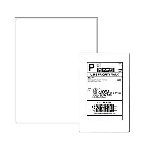 Full Sheet Address Shipping Labels - 8-1/2