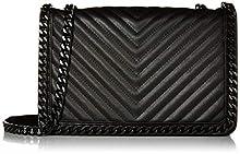 ALDO Women's Greenwald Crossbody Bag Shoulder, Black, One Size