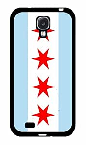 Chicago Flag- Plastic Phone Case Back Cover Samsung Galaxy S4 I9500