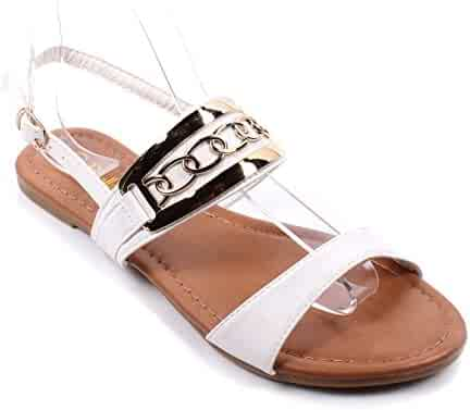 8c258e71fb0 New Ankle Strap Buckle Ladies Strappy Casual Slingbacks Sexy Womens Sandals  Shoes New Without Box