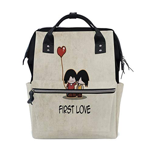 Diaper Bags My First Love Fashion Mummy Backpack Multi Functions Large Capacity Nappy Bag Nursing Bag for Baby Care for Traveling
