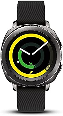 Samsung Gear Sport Smartwatch, Black (SM-R600NZKAXAR) (Renewed)
