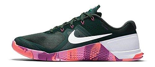 Nike Metcon 2 Amp Treningssko Furu Grønn Hvit Rød