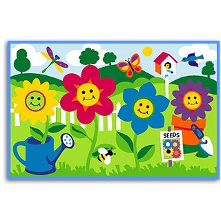 amazon com olive kids happy flowers bedding coordinating placemat
