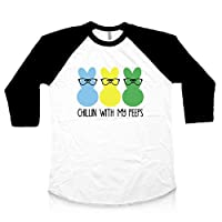 Easter Shirt Boy Chillin With My Peeps Baby Boy Easter Outfit Toddler Shirt