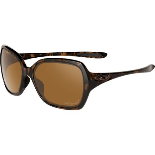 6f2f0336712 Oakley Womens Overtime OO9167-06 Polarized Round Sunglasses