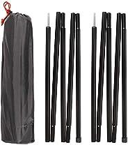 REDCAMP Aluminum Tarp Poles Heavy Duty and Adjustable, Set of 2, 35''-90''/75''-86&quo