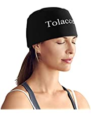Headache and Migraine Relief Cap Headache Ice Pack or Hat Used for Migraines and Tension Headache Relief. Stretchy, Comfortable, Soft and Cool Large Size