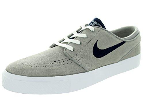 Nike Mens Zoom Stefan Janoski Medel Grå / Obsidian / Vit Skatesko 8 Män Oss