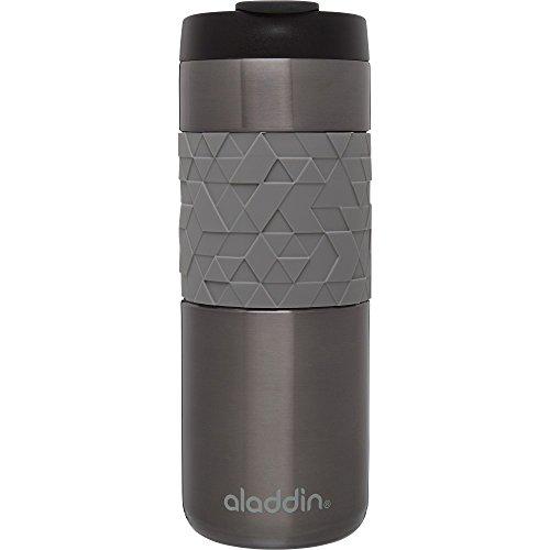 Recycled Travel Mug - Aladdin 10-02679-002 Vacuum Insulated Mug with Sleeve, 16oz, Slate