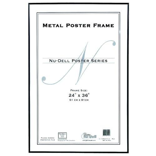 Metal Poster Frame, Black