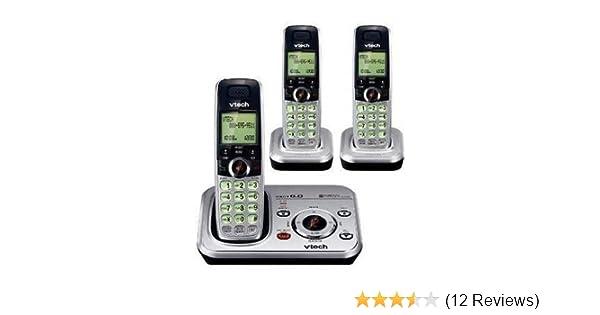 amazon com vtech cs6328 3 dect 6 0 cordless phone system with 3 rh amazon com VTech Flip for Phonics Old VTech Phonics