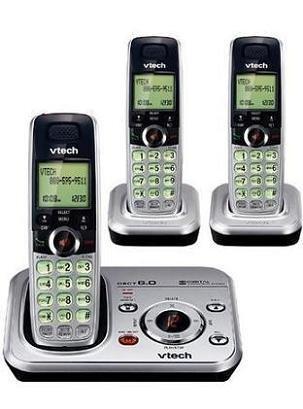amazon com vtech cs6328 3 dect 6 0 cordless phone system with 3 rh amazon com VTech Tote and Go Laptop VTech My Laptop