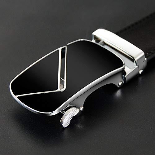 Cm automatico cinturini pelle per con in Lllm Cinture metallo moda fibbia 130 maschile uomo in 115cm cinturino Cintura 8xtPat7