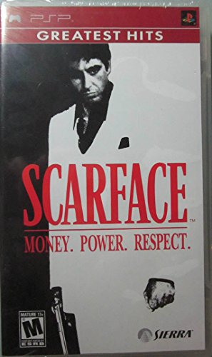 Scarface Money Power Respect - Sony PSP (Simpsons Psp Game)