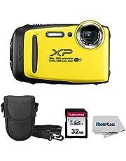 $279 » Fujifilm XP140 Yellow Digital Camera + 32GB SD Card + Case + Cloth (Renewed)