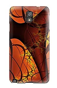 Premium Tpu Fractal Cover Skin For Galaxy Note 3