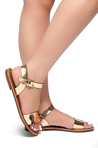 05 Gold Women Sandal - 5