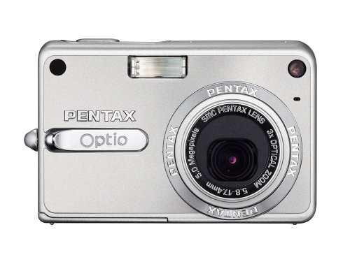 Pentax Optio S5z 5MP Digital Camera with 3x Optical Zoom 5 Megapixels Pentax Optio