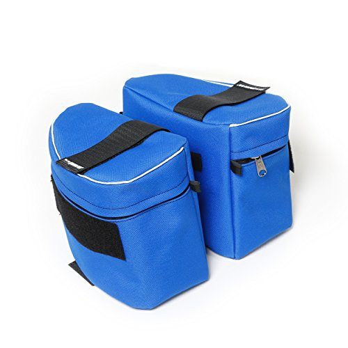 [해외]줄리어스 -K9 1622NT-IDC-B-0 전원 하네스, 크기 0, 파란색을위한 1 쌍의 IDC 측면 백/Julius-K9 1622NT-IDC-B-0 1 Pair IDC side bags for Power Harness, Size 0, Blue