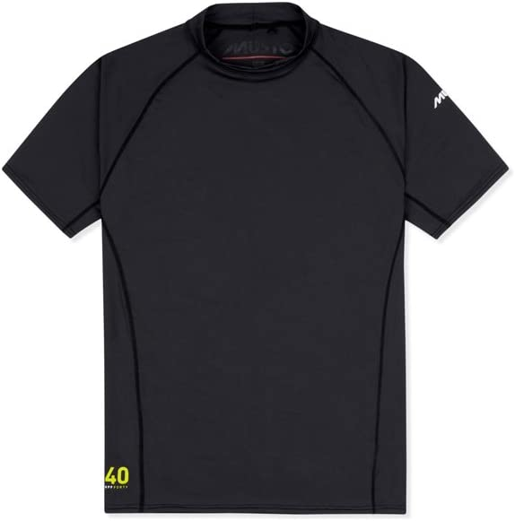 Musto Insignia UV Dry Camiseta de Manga Corta Camiseta Camiseta Top Negro - Unisex - Estiramiento fácil: Amazon.es: Deportes y aire libre