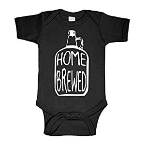 Home Brewed – Wine Beer Brew Craft – Cotton Infant Bodysuit