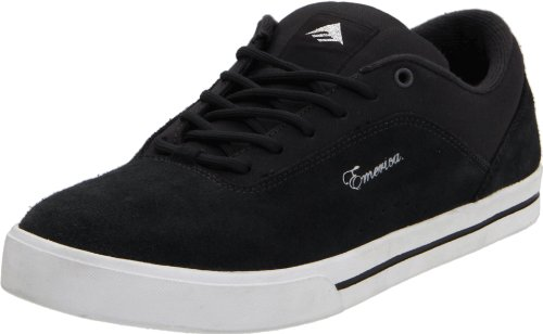 Emerica Unisex - Adult Jinx Sports Shoes Black (Black/White/Silver) professional cheap online low price fee shipping uY4wq